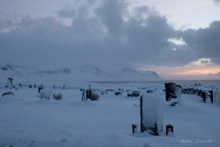 Friedhof der Kirche von Búðir