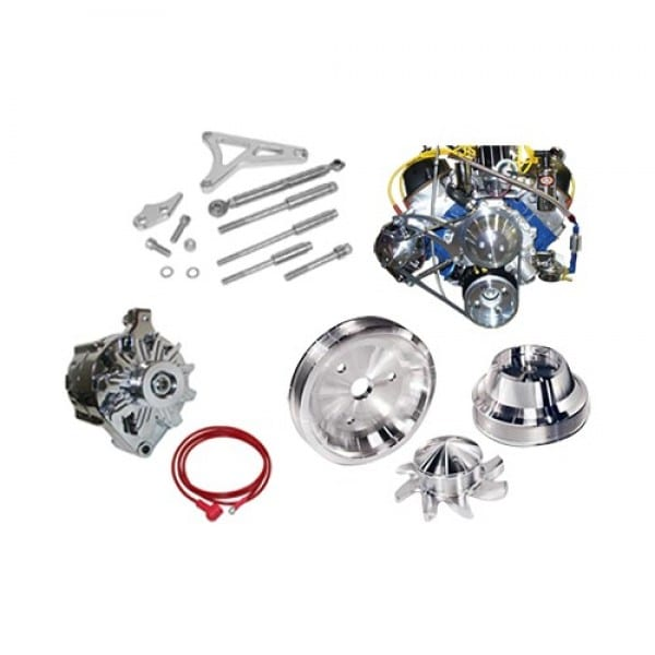 March Performance 302 Ford Pulley Kit with Alternator Only