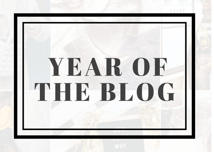 Year of the Blog - ABGB's January Blogging Mood Board