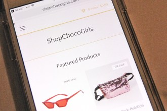 Shop Choco Girls on iphone