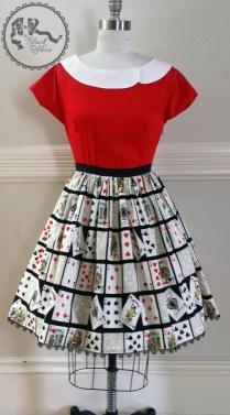 Deck of Cats Skirt