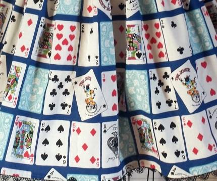 Print detail - Royal Blue