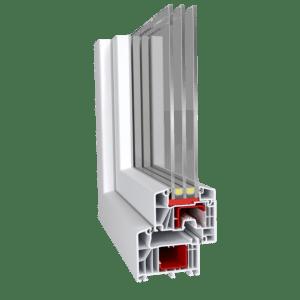 Aluplast ideal 7000 műanyag ablak