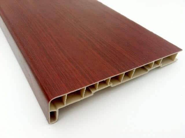 mahagóni műanyag belső könyöklő