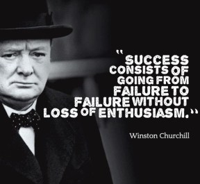 failure Churchill-Quotes