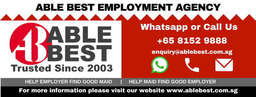 Trusted Singapore Maid Agency