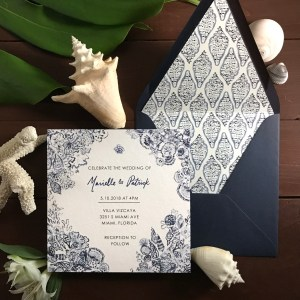 Concha able invitations stationery west palm beach florida view the full suite stopboris Gallery