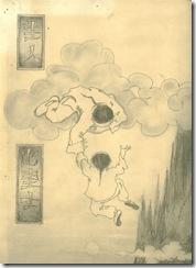 падший ангел. рисунок ученика дедушки