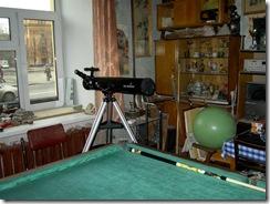 телескоп зеркальный. ув. 200 раз. 012