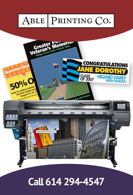 Banners and signs printing in Columbus, Ohio