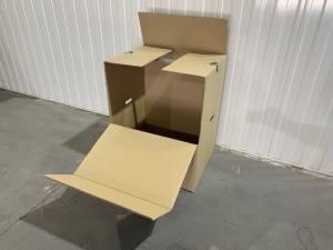 Clothes box mini portarobe cardboard