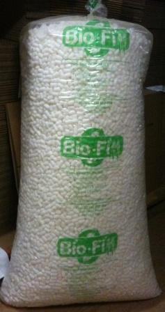 Green fill packing beans