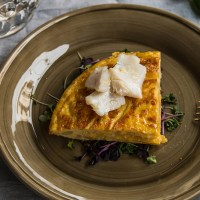 Tapa de tortilla de Skrei by David Delgado Norwegian Seafood Export Council  Recipes
