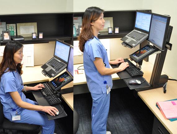 Desks and Workstations  AbleTech Assistive Technologies Inc