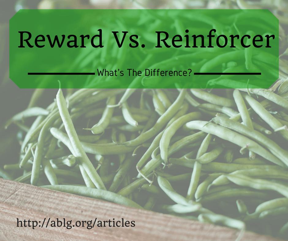 Rewards versus reinforcers in behavior therapy NJ