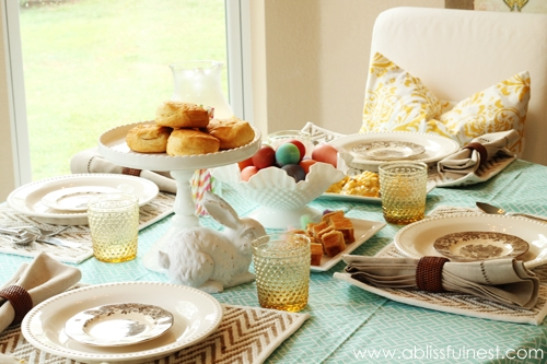 Spring Table Setting Ideas & Entertaining