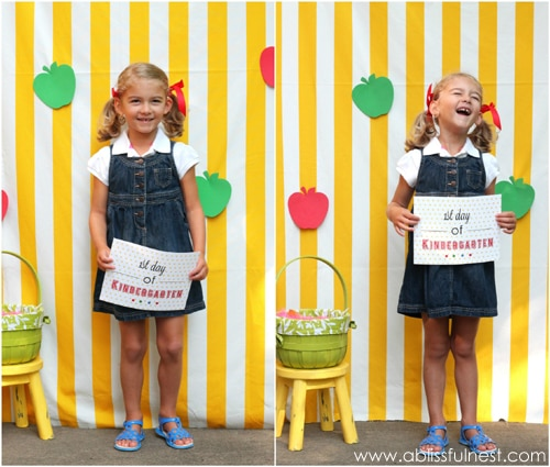 1st Day Of School Photo Ideas With Free Printables