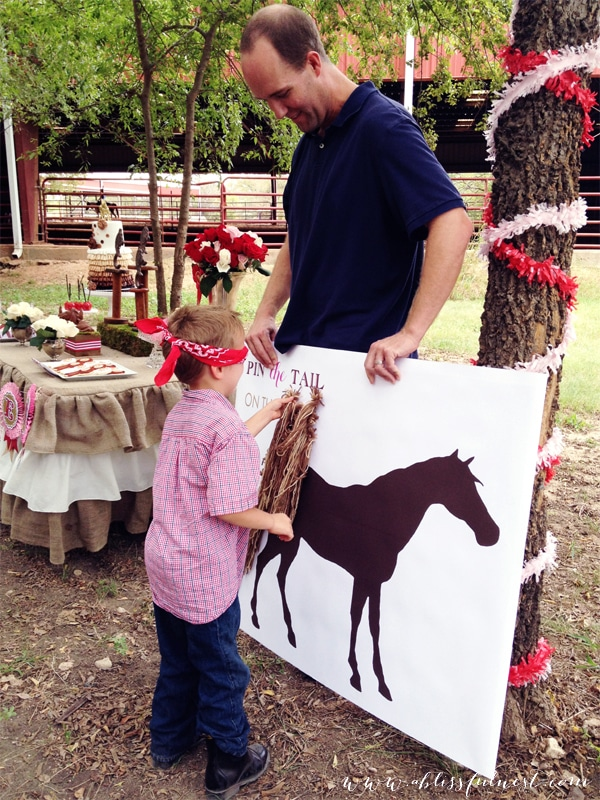 Classic 'Pin The Tail On The Donkey' Kids Party Game | Cool And Classic Kids Party Ideas For The Homesteading Family