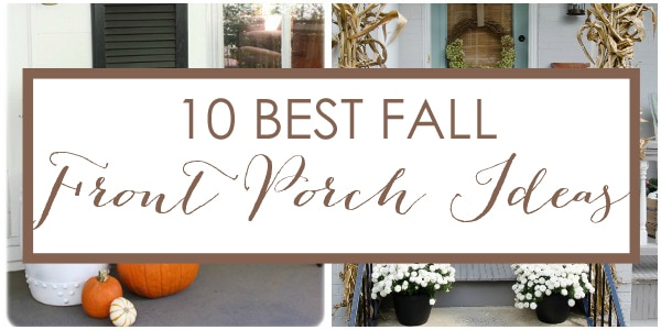 front porch fall decor 10 beautiful front porch displays a blissful nest