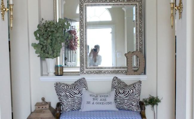 Entryway Ideas By A Blissful Nest