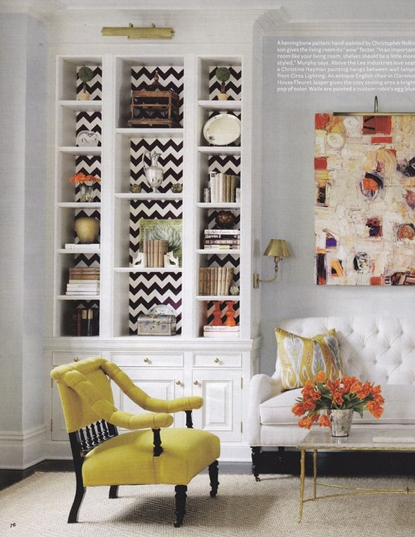 How Style Bookcase Design Tips Blissful Nest