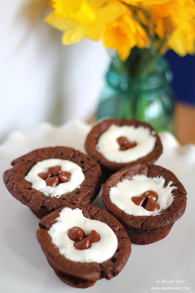 Peanut Butter Filled Brownie Recipe by A Blissful Nest