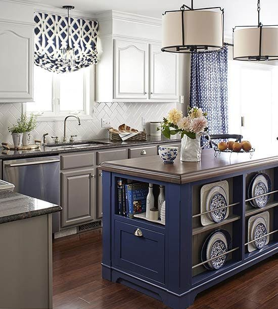 Blue And White Kitchens: Blue And White Kitchen Inspiration