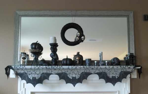 Endlessly Inspired Halloween Mantel