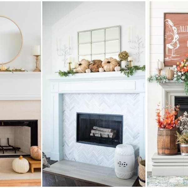 25 Fall Mantel Decorating Ideas