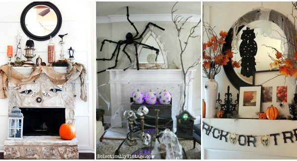 30 Best Halloween Mantel Ideas