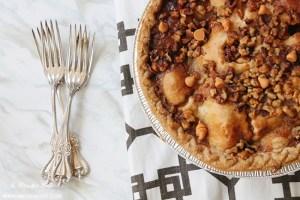 Butterscotch Apple Pumpkin Pie