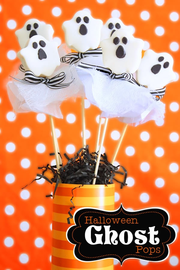 Halloween Ghost Pops