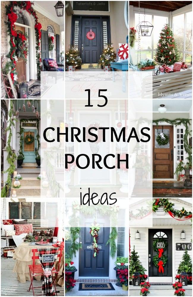 15 Festive Amp Fun Christmas Porch Ideas A Blissful Nest