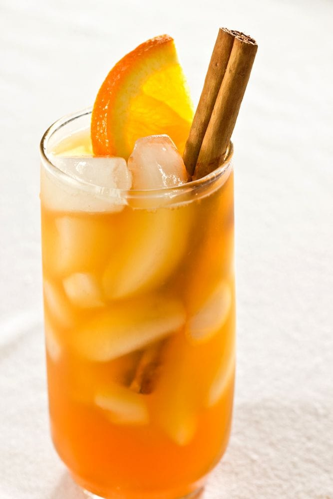 Cinnamon Spiced Ice Tea Recipe