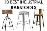 Vintage Industrial Barstools - 10 BEST for Farmhouse Style
