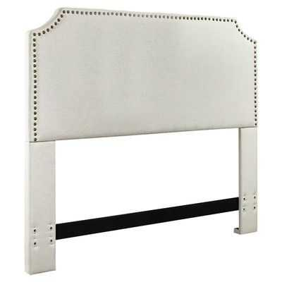 Simple, elegant, and sophisticated! It's the perfect headboard for any room and comes in the best neutral colors.
