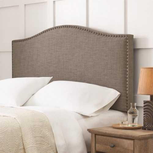 This quality design, mixed with the low price means that this Better Homes & Gardens headboard can't be beat! It's a classic upholstered design with bold neutral colors and is built to last.