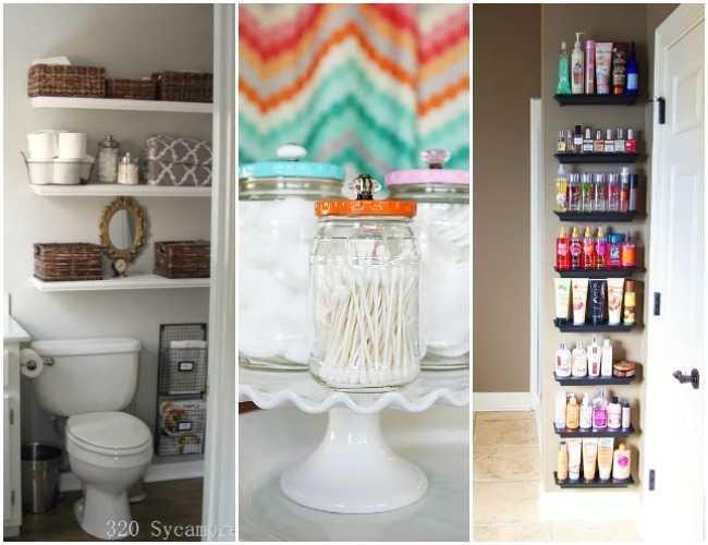 Bathroom Organization Ideas  Hacks  20 Tips To Do Now