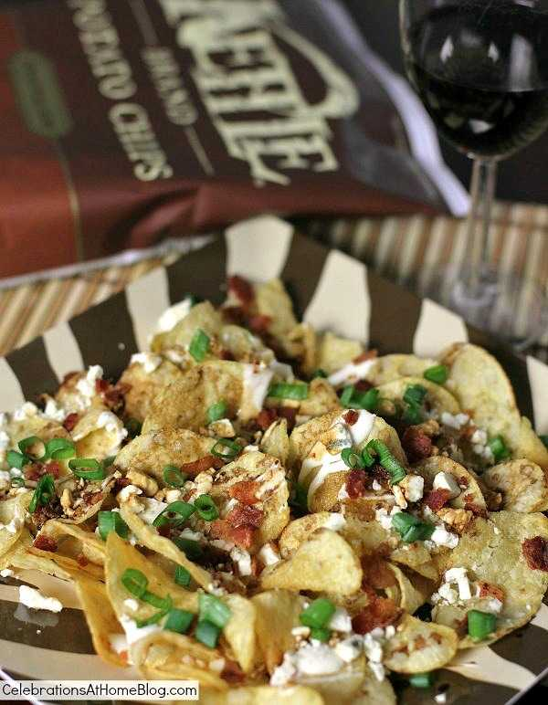 Blue Cheese and Balsamic Kettle Chips, 25 Best Appetizers to Serve