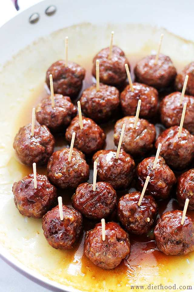 brown sugar glazed turkey meatballs 25 best appetizers to serve