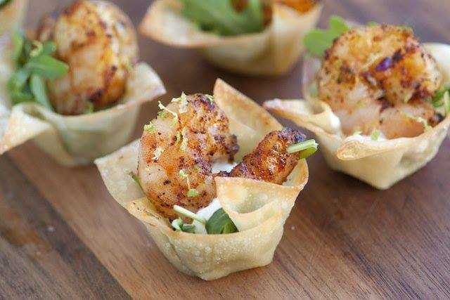 Chili Lime Shrimp Cups, 25 Best Appetizers to Serve