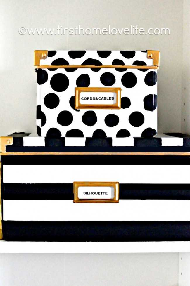 IKEA Hack Kate Spade Inspired Boxes