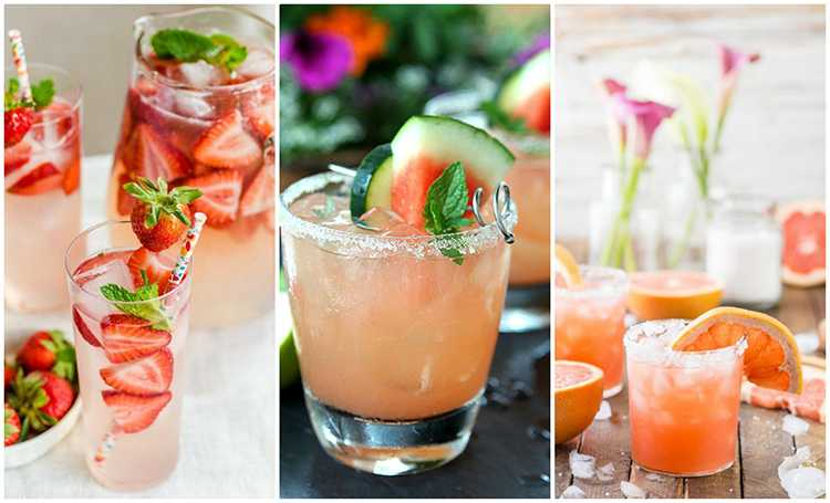 These are 20 of THE best summer cocktails to try!