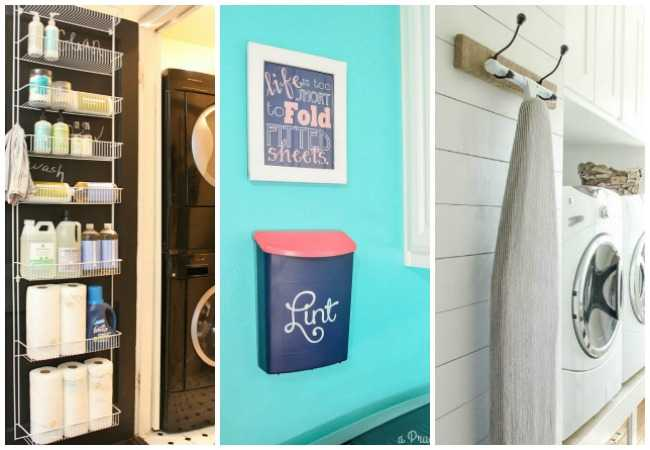 20 laundry room organization ideas hacks