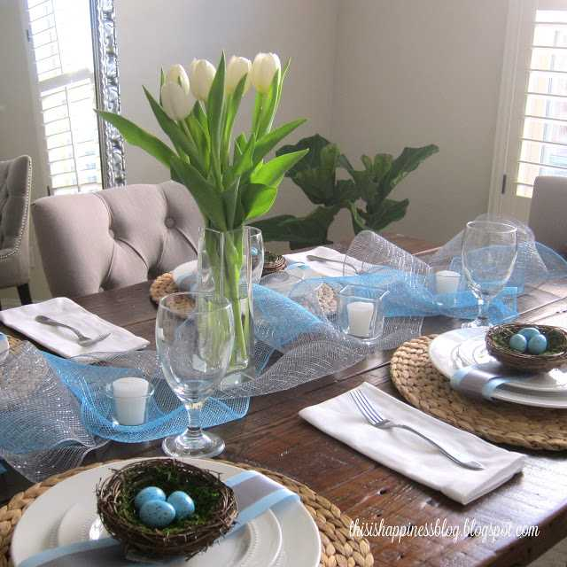 easter table by this is happiess blog 10 easter table ideas