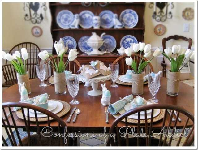 pottery barn inspired easter table 10 easter table ideas