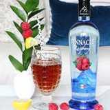 Spiked Raspberry Ice Tea Cocktail Recipe