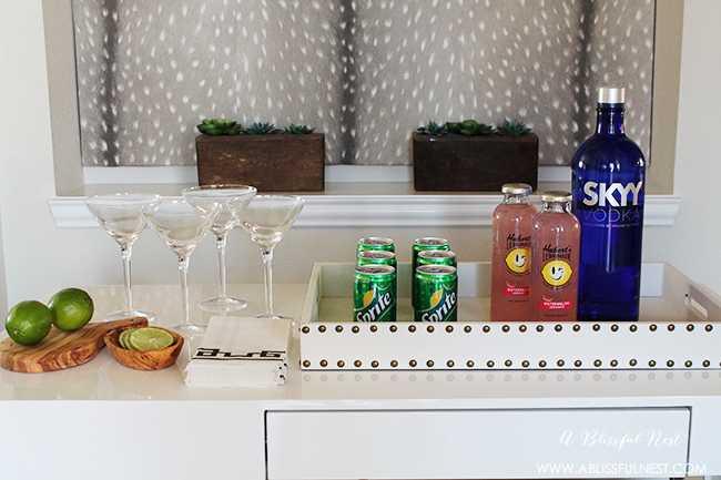 The perfect summer cocktail recipe! Delicious watermelon lemonade martini recipe + a video! https://ablissfulnest.com/ #cocktailrecipe #summercocktail #martinirecipe #drinkrecipe
