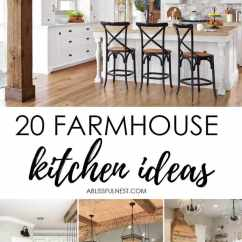 Farmhouse Kitchen Cabinets Small Ideas Pictures For Fixer Upper Style Industrial Flare Love These Gorgeous Kitchens