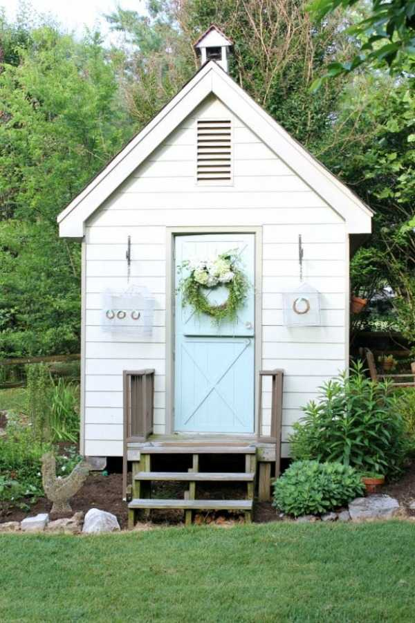 Old Playhouse into She Shed Daisy Mae Belle via Hometalk, The Best She Sheds